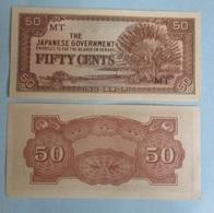 MALAYA JAPANESE OCCUPATION 50 CENTS 1942 WWII P-M4b - Malaysia
