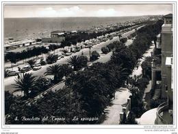 S. BENEDETTO  DEL  TRONTO:   LA  SPIAGGIA  -  FOTO  -  FG - Ascoli Piceno
