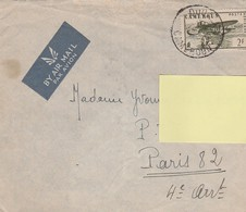 ENVELOPPE TIMBREE CAMEROUN DOUALA Pour La FRANCE En 1945 - Kamerun (1915-1959)