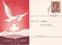 Journée Du Timbre 1940 - Timbre Pro-Juventute N° 355 - Pro Juventute