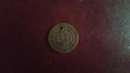 Médaille Ou Jeton Noté Ville De St-Étienne 1912-au Dos 2ème Crie 33130 - Autres
