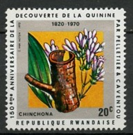 Rwanda - Ruanda 1970 Y&T N°378 - Michel N°408 *** - 20c Chinchona - Rwanda