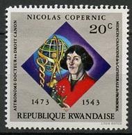 Rwanda - Ruanda 1973 Y&T N°566 - Michel N°612 *** - 20c N Copernic - Rwanda