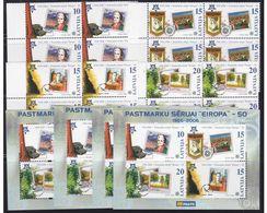Latvia 4 X Mint Set + S/s - Europa 2006 - 2006