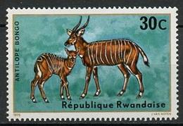 Rwanda - Ruanda 1975 Y&T N°612 - Michel N°674 *** - 30c Bongo - Rwanda
