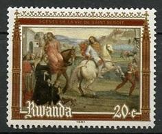 Rwanda - Ruanda 1981 Y&T N°1021 - Michel N°1135 *** - 20c Saint Benoit - 1980-89: Neufs