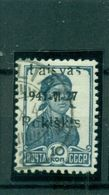 Deutsches Reich, Litauen Roskiskis Nr. 2 A II Gestempelt - Besetzungen 1938-45