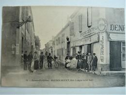 65 - MAUBOURGUET - Rue Longue (Coté Sud) Epicerie Centrale Animée - Maubourguet