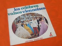 Vinyle 33 Tours  Les Célèbres Valses Viennoises  Johan Keisler - Vinyl-Schallplatten