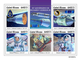 Guinea Bissau 2019 Richard F. Gordon Jr, Astronaut ,space  S201907 - Guinea-Bissau