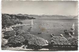 1950 Ouchy - Le Port Et Les Alpes - Lac Meer - Ed. A Sartori - 523 - Suisse
