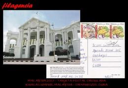 ASIA. MALAYSIA. ENTEROS POSTALES. TARJETA POSTAL CIRCULADA 2017. SARAWAK. MALAYSIA-CIENFUEGOS. CUBA. FRUTOS - Malaysia (1964-...)