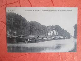 Douai .  Le Garage De Bateaux De L Ile Du Diable A Corbehem - Douai