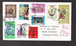 Sent To Calkins Grand Junctions Colorado (192) - Libyen