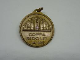Medaglia Coppa Ridolfi -  A. XII - Italy