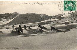 ALGERIE - 113 - Paysage De L'Extrême Sud Les Dunes De Sable- Collection Régence A. L. édit. Alger (Leroux) - - Algeria