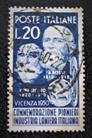 PIONNIERS DE L'INDUSTRIE DE LA LAINE 1950 - OBLITERE- YT 566 - MI 801 - 6. 1946-.. Republic