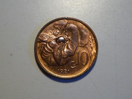 Moneta 10 Cent 1921 Vittorio Emanuele III Re D'Italia - 1861-1946 : Regno