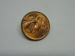 Moneta 10 Cent 1923 Vittorio Emanuele III Re D'Italia - 1861-1946 : Regno