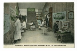 Aubusson - Manufacture Tapis & Tapisseries Brunschwig & Weil - Un Atelier De Peintres - Pas Circulé - Aubusson