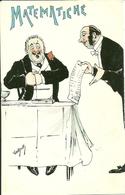 """Conto Del Ristorante,""""Matematiche"""", Riproduzione Da Orig., Reproduction, Illustrazione, Vantjock Illustratore (F45) - Humor"""