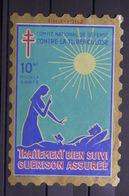 FRANCE - Vignette Contre La Tuberculose - L 39808 - Antituberculeux