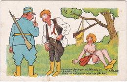 Illustrateur V. SPAHN. Vous Savez Bien Que C'est Defendu De Chasser Ici. Série C 114 - Illustrators & Photographers
