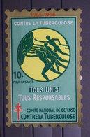 FRANCE - Vignette Contre La Tuberculose - L 39809 - Antituberculeux