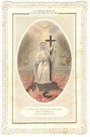 CANIVET COULEUR DENTELLE LA DIVINE SAGESSE Ô JESUS VOS EPINES IMAGE PIEUSE RELIGIEUSE  HOLY CARD SANTINO - Imágenes Religiosas