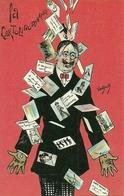 La Cartolinomania, Riproduzione Da Orig., Reproduction, Illustrazione, Vantjock Illustratore (F46) - Humor