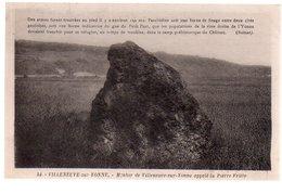 REF 372 : CPA 89 Villeneuve Sur Yonne Pierre Fritte - Villeneuve-sur-Yonne