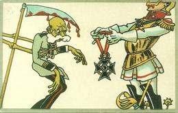 Consegna Medaglia Alla Memoria, Riproduzione Da Orig., Reproduction, Illustrazione, (F49) - Humor