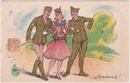 COLLECTION COMIQUE MILITAIRE 123. Sandwich. Illustrateur Marcel Bloch - Künstlerkarten