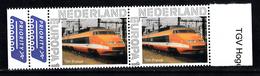 Nederland Persoonlijke Europa Zegel: Trein, Train, TGV France - Treinen