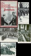 WW II Buch : Die Nationalversammlung Von Potsdam 1933, Politik , SA , Adolf Hitler , Hermann Göring , Von Hindenburg , - Militär & Polizei