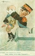 """Vittorio (da San Giusto) """"vieni Carino, Ti Fo Veder Venezia !"""" Riproduzione Da Orig., Reproduction, Illustrazione, (F51) - Humor"""