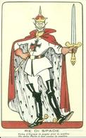 Re Di Spade, Riproduzione Da Orig., Reproduction, Illustrazione, (F53) - Humor