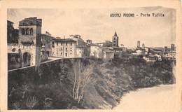 """M08567 """"ASCOLI PICENO-PORTA TUFILLA""""-CART. ORIG. NON SPED. - Ascoli Piceno"""