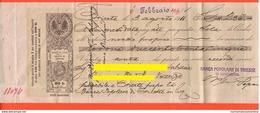 Trieste Cambiale Da 235 Corone 1912 Banca Popolare Di Trieste Bill Of Exchange Promissory Cambiali Change Titres - Cambiali