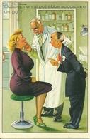 Dottore, Non Si Potrebbe Accorciare Un Po (la Lingua)?, Riproduzione Da Orig., Reproduction, Illustrazione, (F55) - Humor