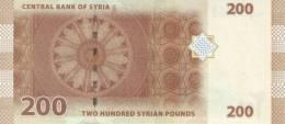SY P. 114 200 P 2009 UNC - Siria
