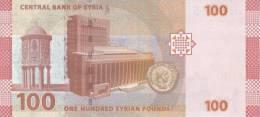SY P. 113 100 P 2009 UNC - Siria
