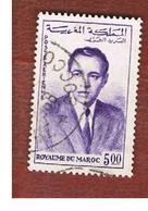 MAROCCO (MOROCCO)  -  SG 106  -   1962 KING HASSAN II 5,00  - USED ° - Marocco (1956-...)