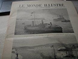 GUERRE ESPAGNE AMERIQUE CUBA/ CADIX /FLOTTE ESPAGNOLE /VERSAILLES PROCES ZOLA - Zeitschriften - Vor 1900
