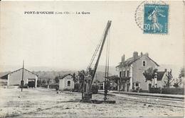 PONT D' OUCHE La Gare - France