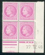 Lot 4815 France Coin Daté N°679 Cérès De Mazelin  (**) - Coins Datés