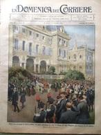 La Domenica Del Corriere 25 Agosto 1912 Morte Di Massenet Ossola Ferrara Cassino - Libri, Riviste, Fumetti