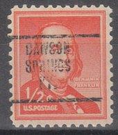 USA Precancel Vorausentwertung Preo, Locals Kentucky, Dawson Springs 707 - Vereinigte Staaten