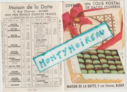 Vieux  Papier  : Calendrier 1958 , Maison De La  Datte , ALGER - Calendriers