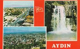 Turkey | Aydin - 1970/80 - Postcard: City Architecture-View | Various Views From The City. * - Türkei